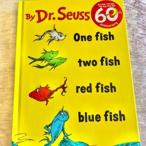 Dr. Seuss One Fish, Two Fish, Red Fish, Blue Book